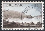 Faroe Islands Scott 121 Used