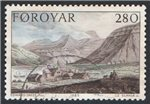 Faroe Islands Scott 122 Used
