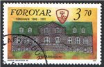 Faroe Islands Scott 222 Used
