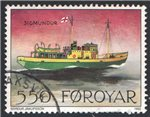 Faroe Islands Scott 234 Used