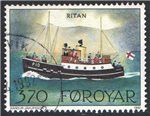 Faroe Islands Scott 233 Used