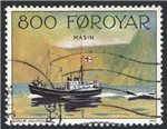 Faroe Islands Scott 235 Used