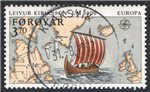 Faroe Islands Scott 236 Used