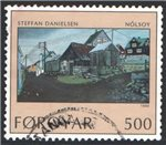 Faroe Islands Scott 214 Used