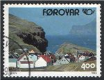 Faroe Islands Scott 251 Used
