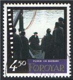 Faroe Islands Scott 324 Used