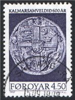 Faroe Islands Scott 323 Used