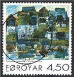 Faroe Islands Scott 398 Used