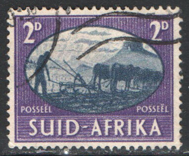 South Africa Scott 101b Used