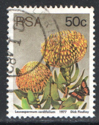 South Africa Scott 489a Used