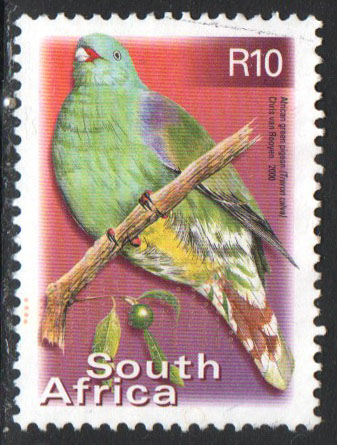 South Africa Scott 1197a Used