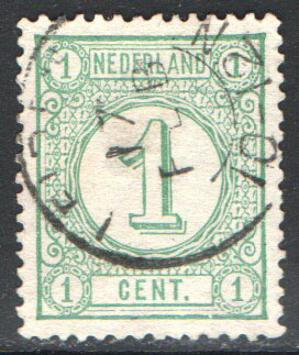 Netherlands Scott 35 Used