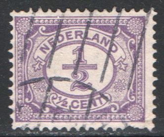 Netherlands Scott 55 Used