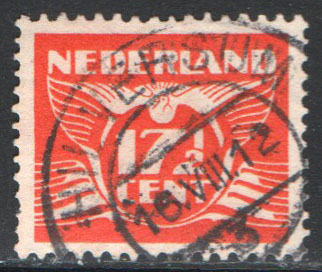 Netherlands Scott 243K Used