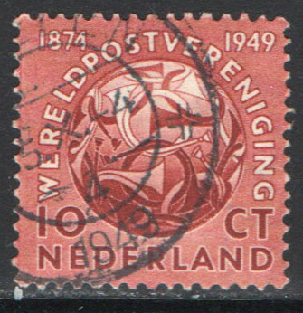 Netherlands Scott 323 Used