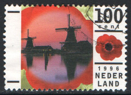 Netherlands Scott 930 Used