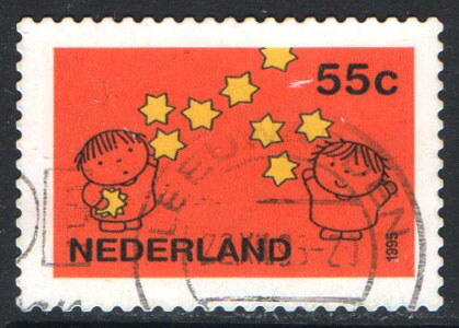 Netherlands Scott 917 Used