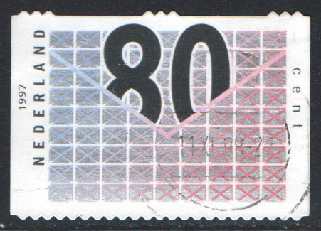 Netherlands Scott 952 Used