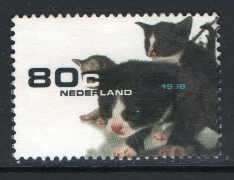 Netherlands Scott 1013 Used