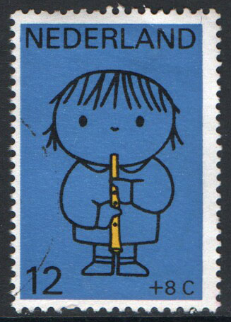 Netherlands Scott B452 Used