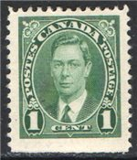 Canada Scott 231as Used VF