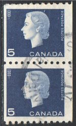 Canada Scott 409 Used Pair VF