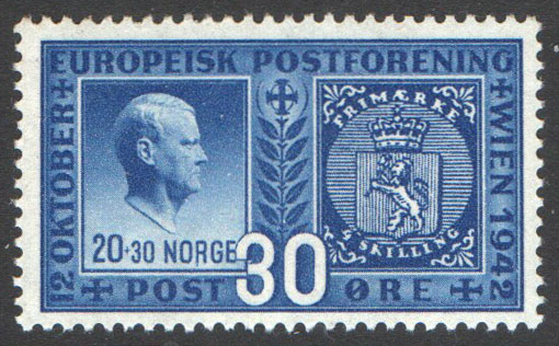 Norway Scott 254 Mint