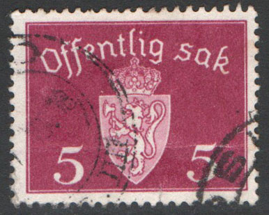 Norway Scott O33 Used