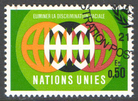 United Nations Geneva Scott 20 Used