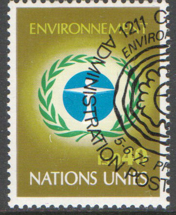 United Nations Geneva Scott 25 Used