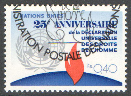 United Nations Geneva Scott 35 Used