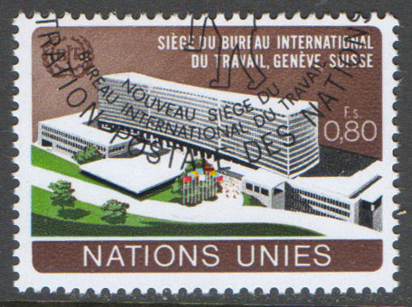 United Nations Geneva Scott 38 Used
