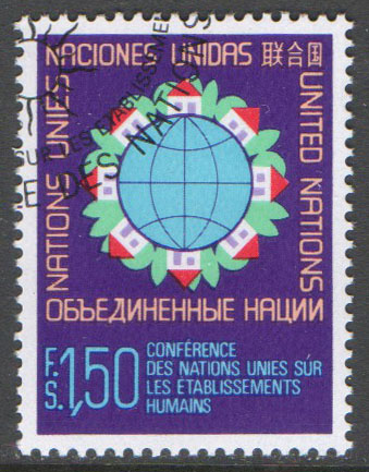 United Nations Geneva Scott 60 Used