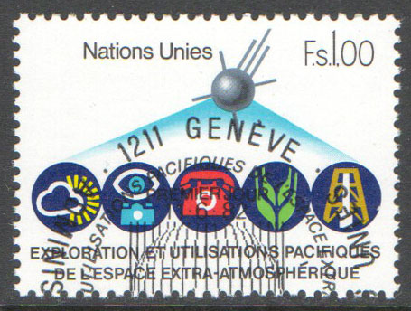 United Nations Geneva Scott 110 Used