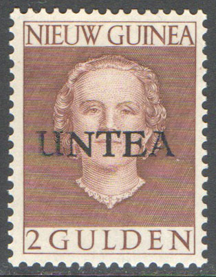 UN West New Guinea Scott 18 MNH