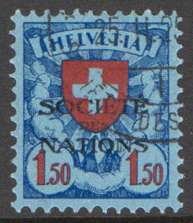 Switzerland Scott 2-O-33a Used