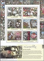 Canada Scott 2002 MNH (B1-8)