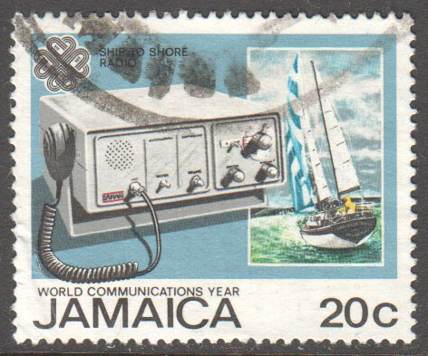 Jamaica Scott 563 Used