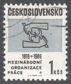 Czechoslovakia Scott 1603 Used