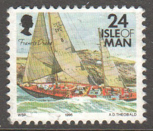 Isle of Man Scott 697 Used