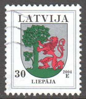 Latvia Scott 473 Used