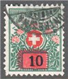 Switzerland Scott J46 Used