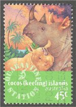 Cocos (Keeling) Islands Scott 319 Used