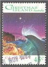 Christmas Island Scott 355 Used