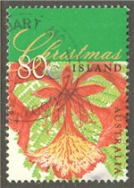 Christmas Island Scott 414 Used