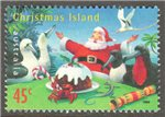 Christmas Island Scott 423 Used
