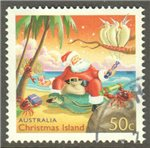 Christmas Island Scott 444 Used