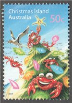 Christmas Island Scott 473 Used