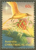 Christmas Island Scott 489 Used