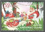 Christmas Island Scott 497 Used